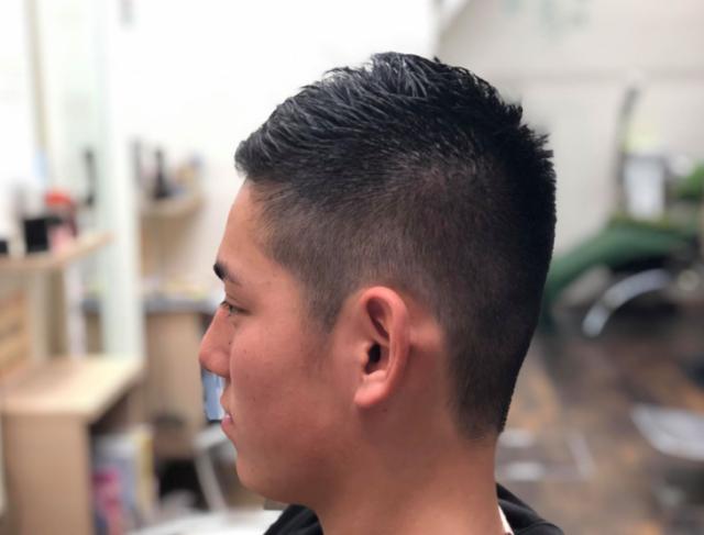 中学生男子ジェットモヒカンの画像