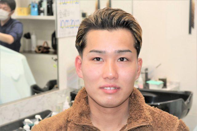 メンズ大学生のヘアスタイル画像