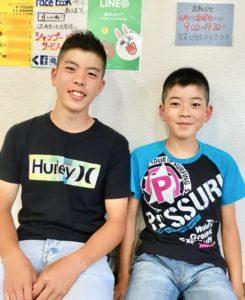 親子、兄弟のスタイル写真
