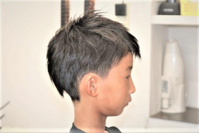 小学生男の子のスタイル画像