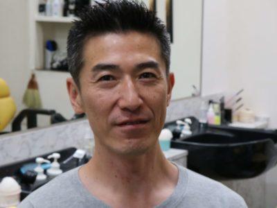 40代男性のヘアスタイル写真