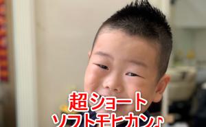 幼児の3ミリソフトモヒカンの画像