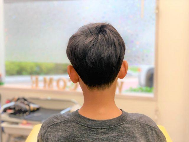 小学生男の子のスタイル写真