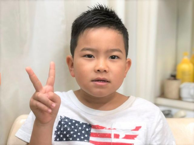 小学3年生男の子の画像