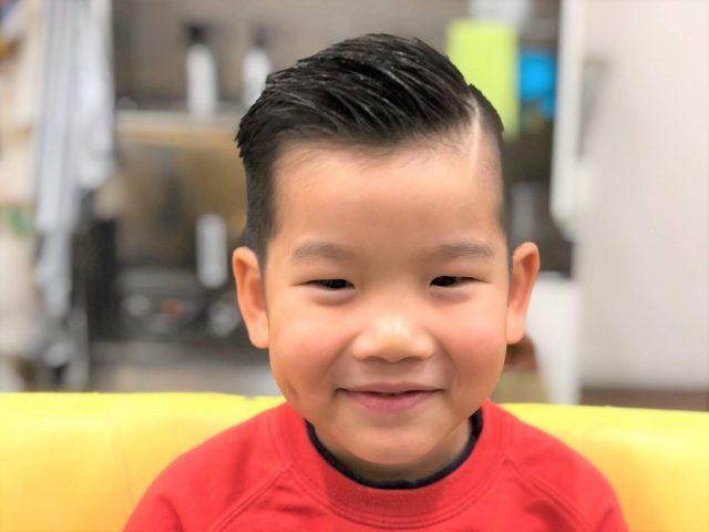 5歳男の子のスタイル写真