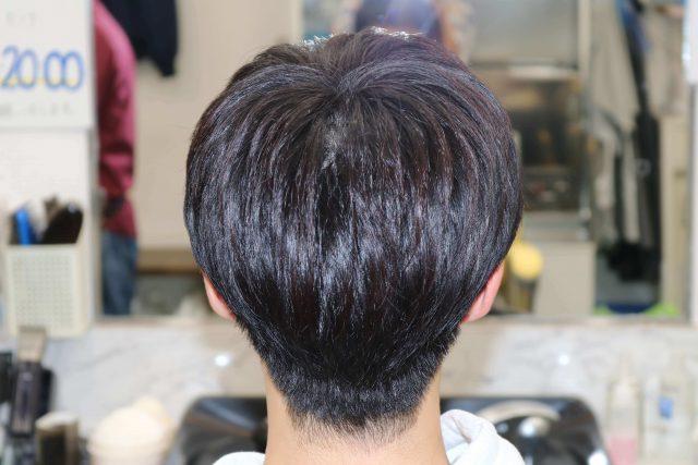 高校生のヘアスタイルの画像