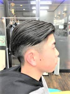 中学生男子の髪型の画像