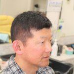 50代男性の髪型の画像