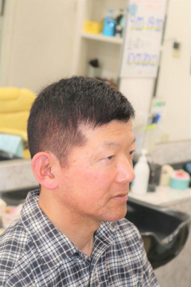 50 代 ソフト モヒカン 50代 髪型 メンズ ソフトモヒカン|香里園の美容室理容室ST.GEORGE