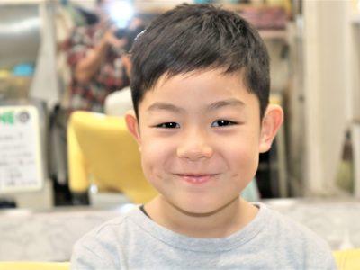 男の子のヘアスタイル画像