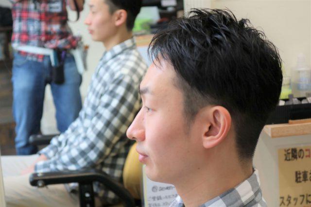 30代男性の髪型の画像
