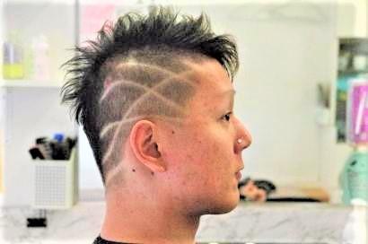 20代男性の髪型の画像