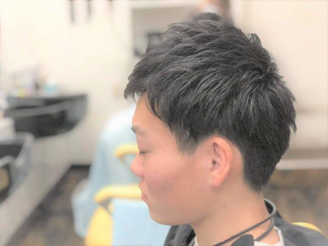 高校生メンズのヘアスタイル画像