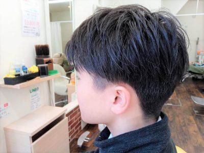中学生男子の髪型画像