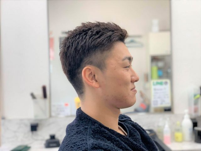 大学生メンズのヘアスタイル画像