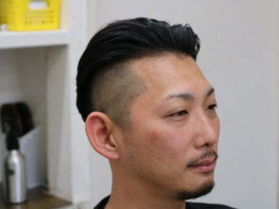 30代の男性の髪型の画像