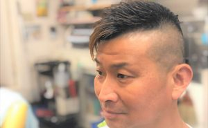 40代男性の髪型の画像